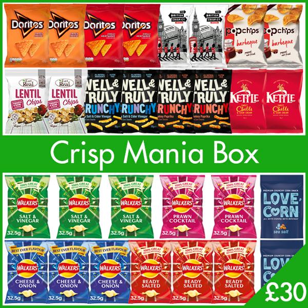 Crisp Mania Box