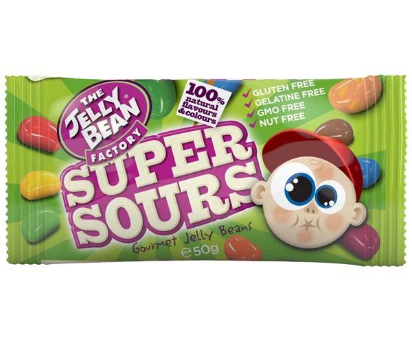 Jelly Bean Factory - Sour Mix Sachets - 24x50g