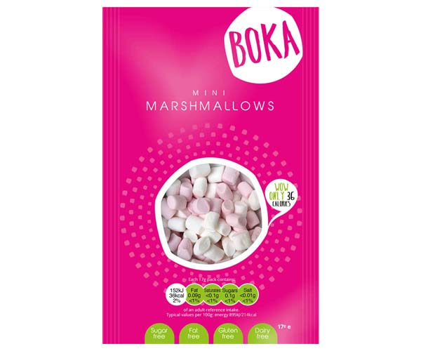 Boka Sugar Free Mini Mallows - 50x17G