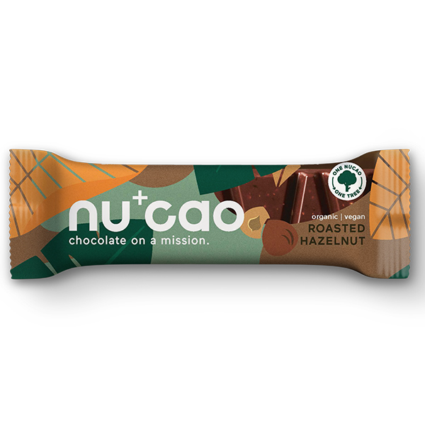 Nucao - Roasted Hazelnut - 12x40g