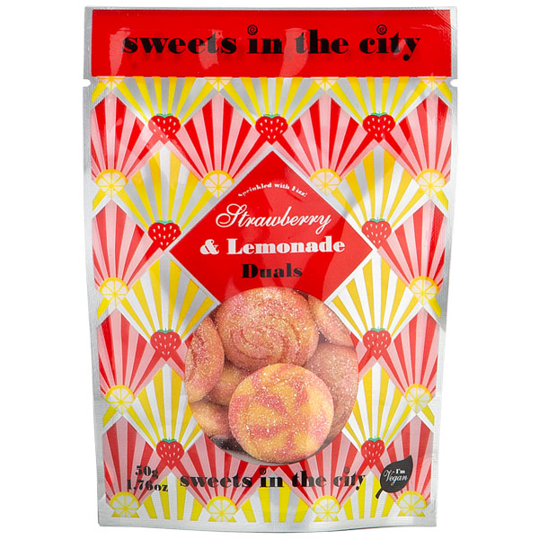 Sweets In The City - Strawberry & Lemonade Duals - 10x50g