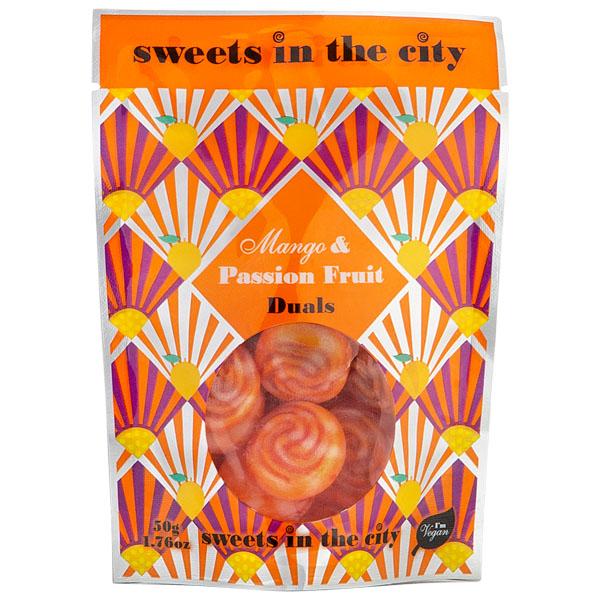 Sweets In The City - Mango & Passionfruit Duals - 10x50g