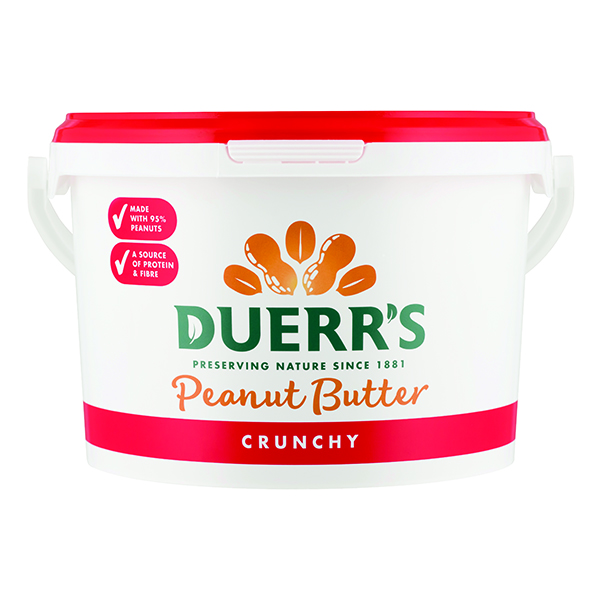 Duerrs - Crunchy Peanut Butter - 1x2.5kg