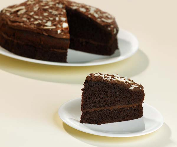 Handmade Cakes - Round Chocolate Cake - 1x14