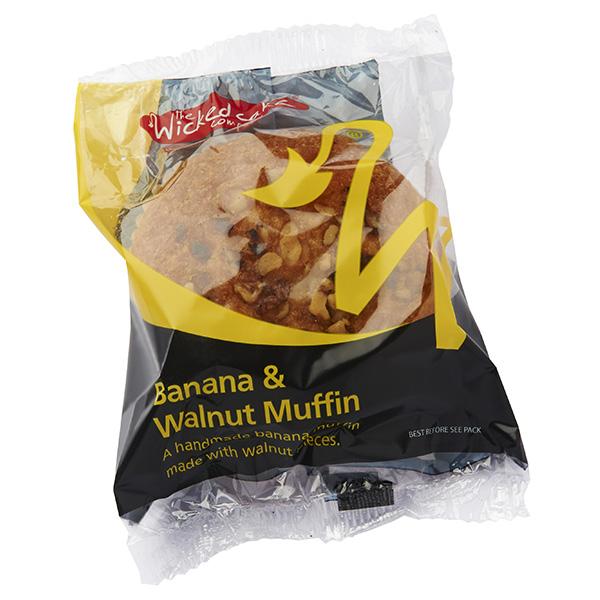 Wicked Giant Muffin - Banana & Walnut - 24x108G
