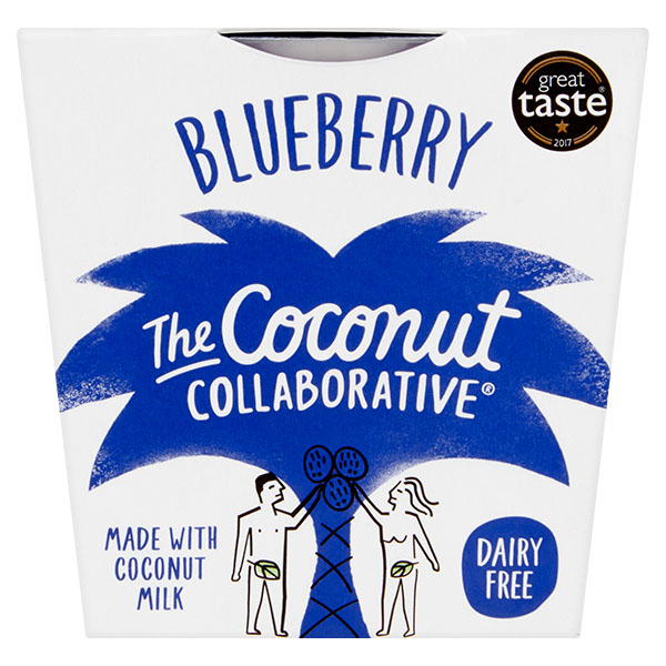 Coconut Collaborative- Blueberry Dairy Free Yoghurt - 6x120g