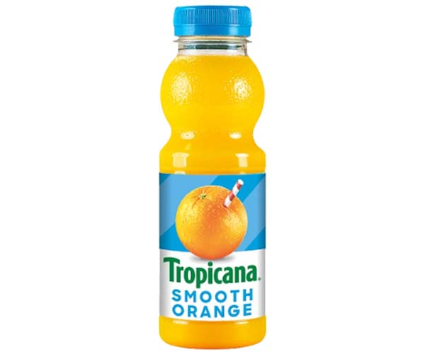 Tropicana Juice - Smooth Orange - 8x300ml