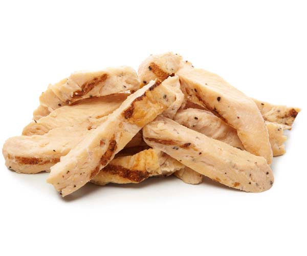 Sliced Chargrill Chicken - 1x1kg