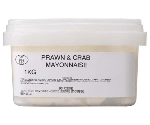 Sandwich Filler - Prawn, Surimi Crab & Mayo - 1x1kg