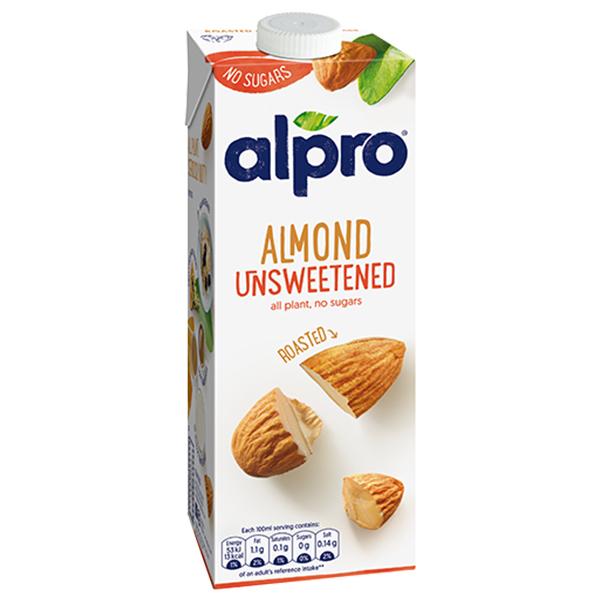 Alpro - 1x1L  Unsweetened Almond Drink