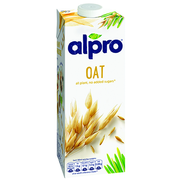 Alpro - Single Carton 1x1L - Oat Original Uht