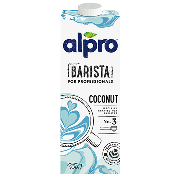 Alpro Professionals - Single Carton 1x1L - Coconut Soy Drink