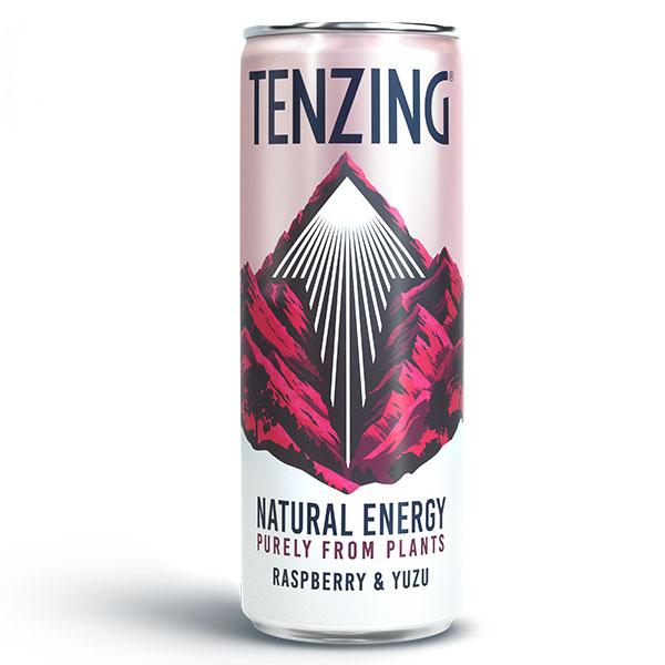 TENZING Natural Energy - Raspberry & Yuzu - 24x250ml