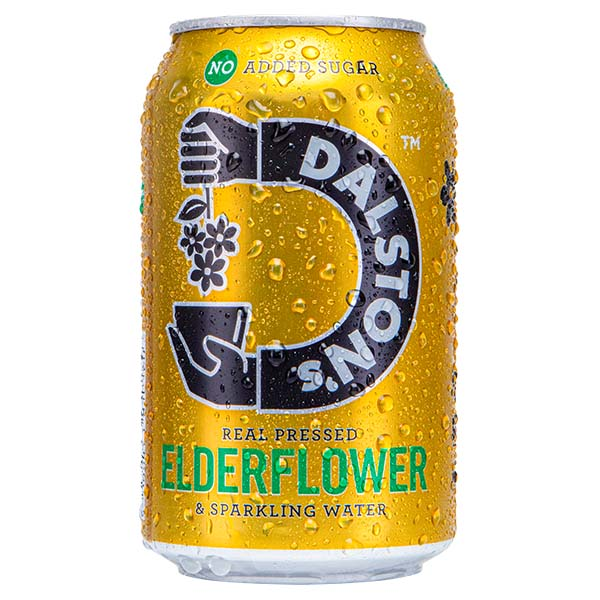 Dalston's - Fizzy Elderflower - 24x330ml
