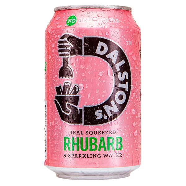 Dalston'S - Fizzy Rhubarb - 24x330ml