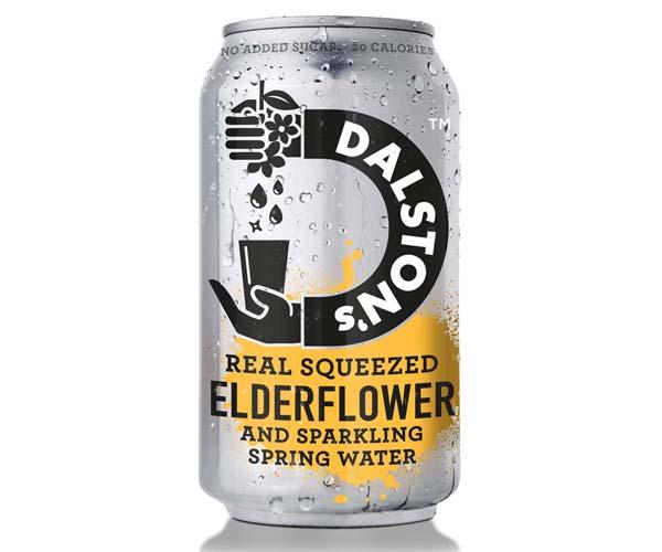 Dalston's - No Added Sugar - Light Elderflower Seltzer- 24x330ml