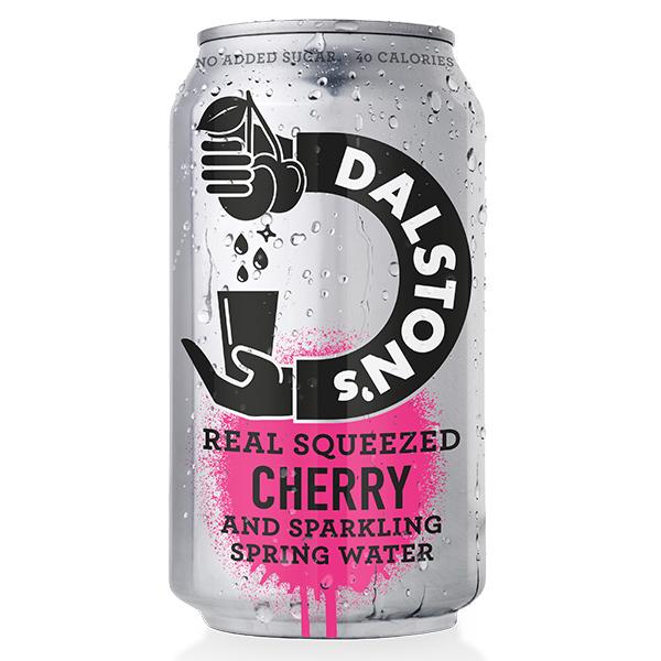 Dalston's - No Added Sugar - Light Cherry Seltzer - 24x330ml