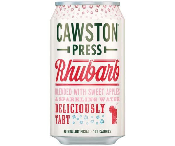 Cawston Press Cans - Rhubarb & Apple - 24x330ml