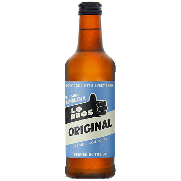 Lo Bros Kombucha - Original - 12x330ml