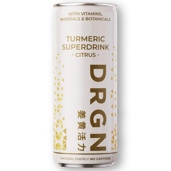 Drgn - Superdrink Turmeric Citrus - 24x250ml