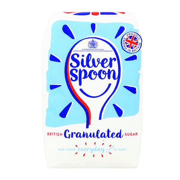 Single Silverspoon Granulated Sugar - 1x1kg