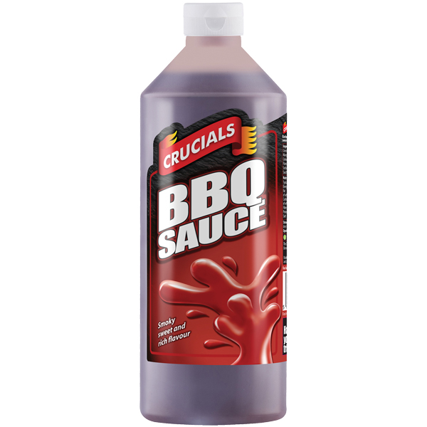 Crucials Sauce - BBQ Sauce - 1x1L