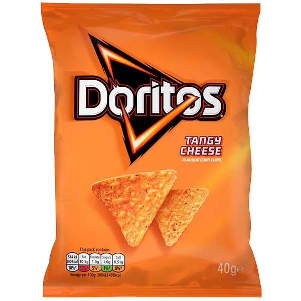Doritos - Tangy Cheese - 32x40g