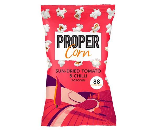 Propercorn - Sun-Dried Tomato & Chilli - 24x20g