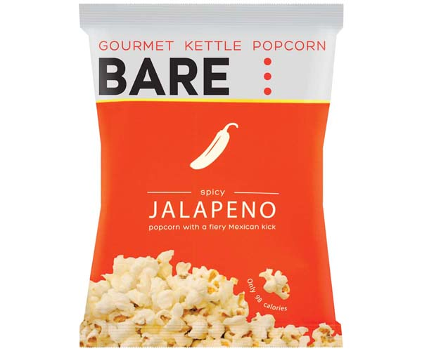 Bare Popcorn - Jalapeno - 18x23g