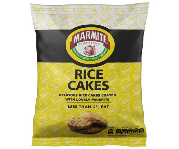 Marmite Rice Cakes - 12x25g