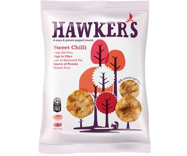 Hawkers - Sweet Chilli - 18x23g