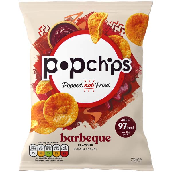 Popchips - BBQ - 24x23G