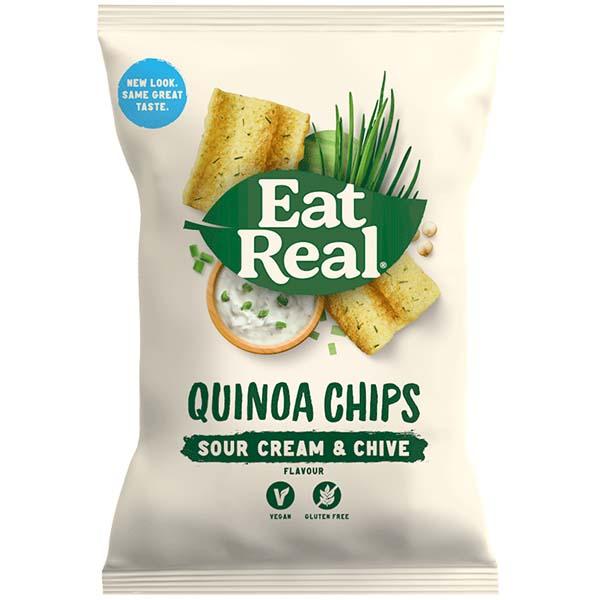 Eat Real - Vending - Quinoa - Sour Cream - 24x22g