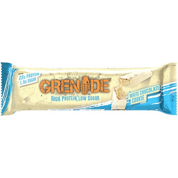 Grenade - Carb Killa Bar - White Chocolate Cookie - 12x60g