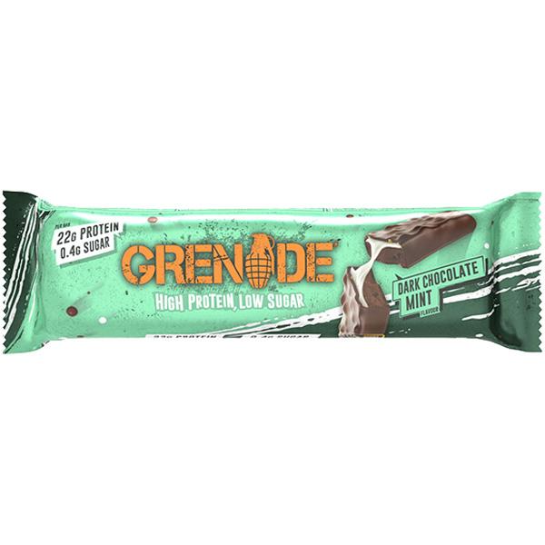 Grenade - Carb Killa Bar - Dark Chocolate Mint - 12x60g