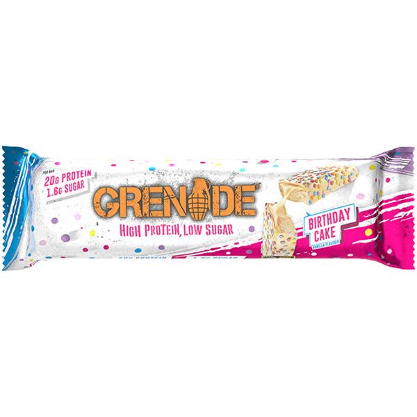 Grenade - Carb Killa Bar - Birthday Cake - 12x60g