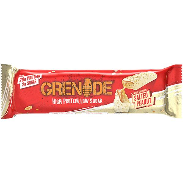 Grenade - Carb Killa Bar - White Choc Salted Peanut - 12x60g
