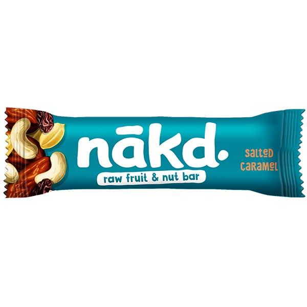 Nakd Nudie - Salted Caramel - 18x35g