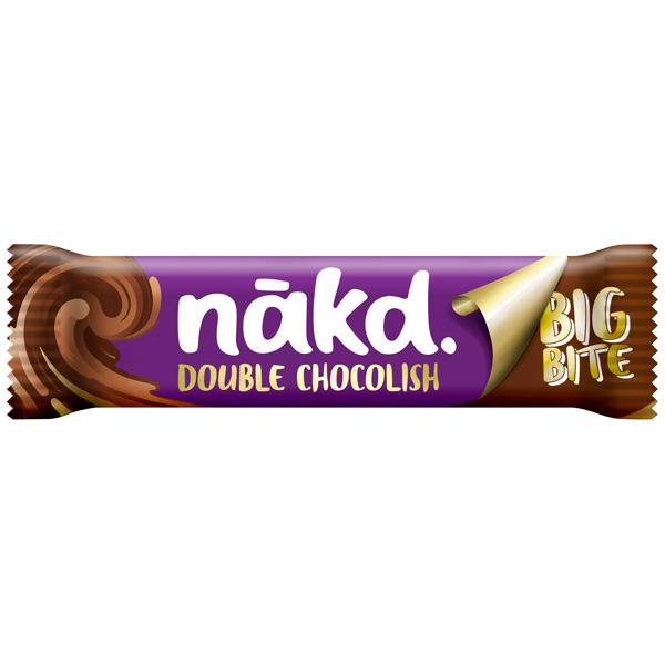 Nakd Chocolish Big Bite - Double Choc - 16x50g