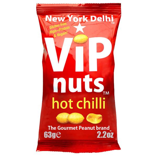 Vip Nuts - Hot Chilli (Peanuts) - 12x63g