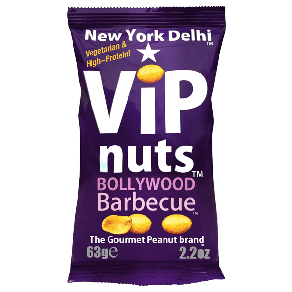Vip Nuts - Bollywood Bbq (Peanuts) - 12x63g
