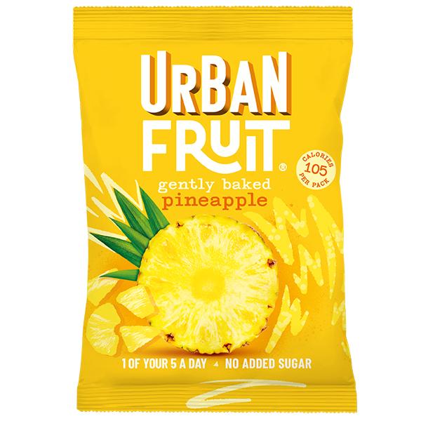 Urban Fruit - Pineapple Snack Pack - 14x35g
