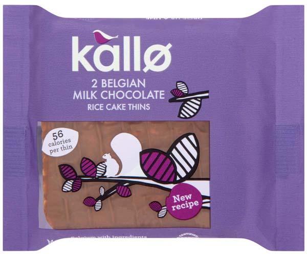Kallo Thins - Belgian Milk Choc - 21x22.5g