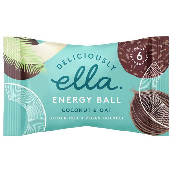 Deliciously Ella Energy Ball - Coconut & Oat - 12x40g