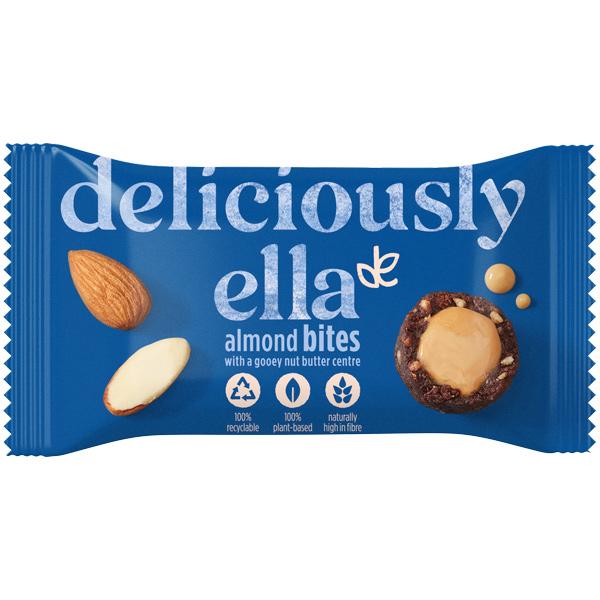 Deliciously Ella Nut Butter Balls - Almond - 12x36g