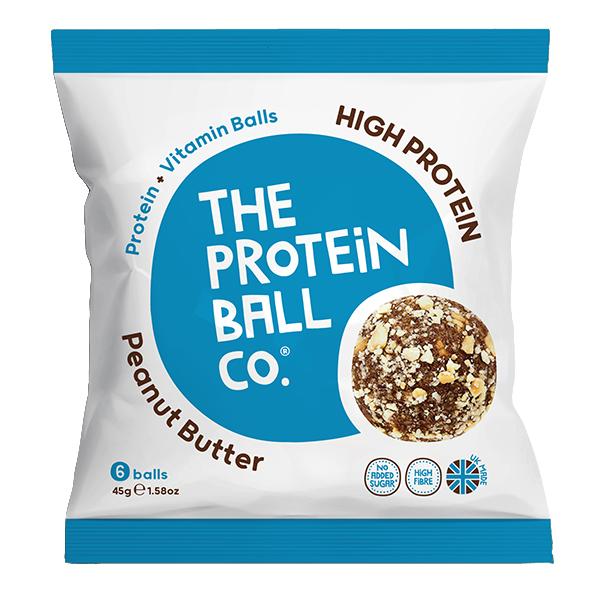Protein Balls - Peanut Butter - Bags - 10x45g