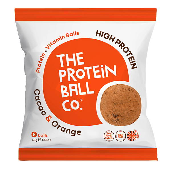 Protein Balls - Cacao & Orange - Bags - 10x45g