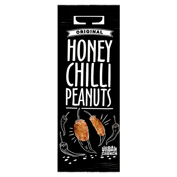 Urban Crunch - Honey Chilli Peanuts - 20x40g