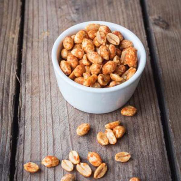 Nibblers - Hot Chilli Seasoned Peanuts - 3x1kg BOX