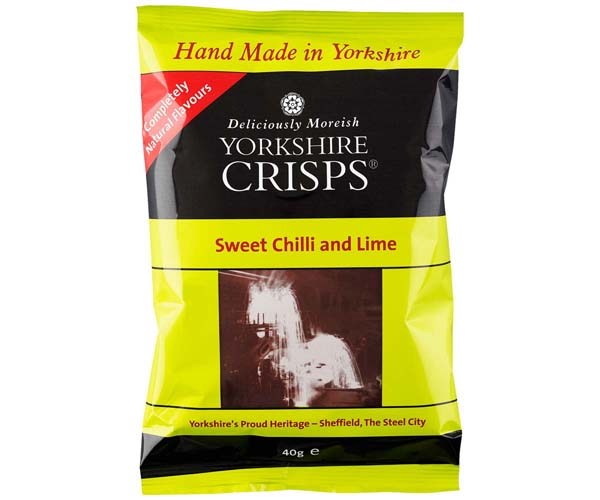 Yorkshire Crisp - Sweet Chilli & Lime - 24x40g